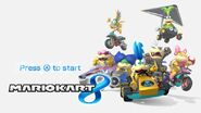 Mario Kart 8 Title Screen (Koopalings)