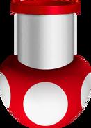 Mushroom Cannon - Mario Kart Wii