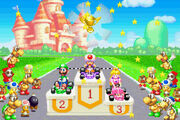 Mario Kart Super Circuit Award Ceremony