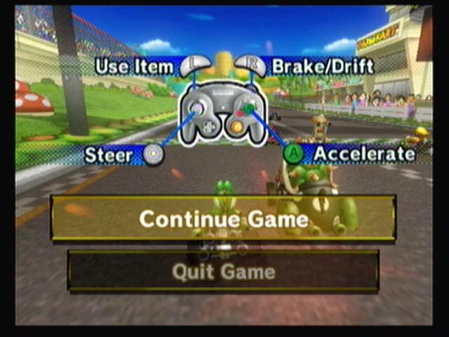 image gamecube controller instructions jpg mario kart racing rh mariokart wikia com Mario Kart Racing mario kart wii manual drift tips