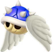 Flying Spiny Shell - Mario Kart 8