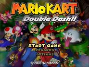 Mario Kart Double Dash Alternative Title Screen
