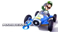 Mario Kart 8 Title Screen (Luigi)