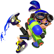 Inkling Boy - Mario Kart X