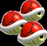 Triple Red Shells - Mario Kart DS