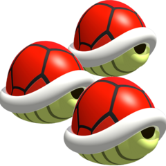 Triple Red Shells (MKDS)
