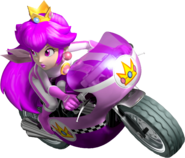 Poisonetta Mushroomette On Mach Bike - Mario Kart Insanity