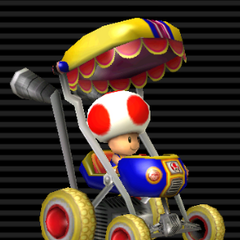 Toad's <b>Booster Seat</b>.