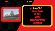Mario Kart X Mode Select New