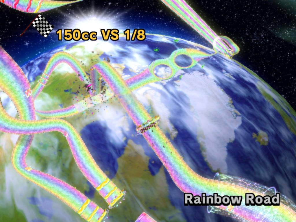 Rainbow Road Wii Mario Kart Racing Wiki Fandom