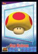 Mega Mushroom Trading Card