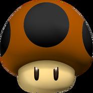 NES Poison Mushroom - Mario Kart Wii