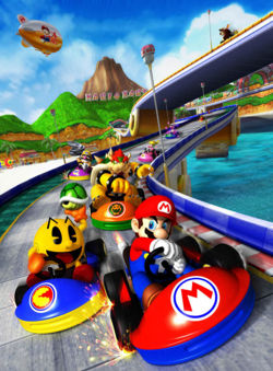 Mario Kart GP Artwork.