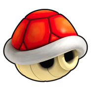 Red Shell Icon - Mario Kart Wii