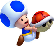 Blue Toad (Red Shell)