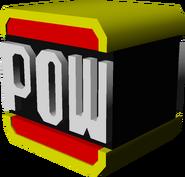 Red POW Block Model - Koopa Kart Double Dash