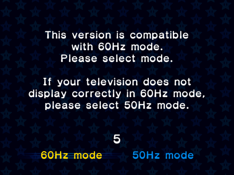 Image - Mario Kart Double Dash PAL Frame Rate options.png | Mario ...