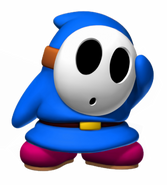 Blue Shy Guy - Mario Kart X