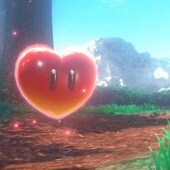 A life-support Heart from the new game <i>Super Mario Odyssey</i> (rated E10+&#160;!!)