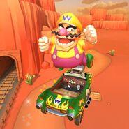 Wario Mario Kart Tour