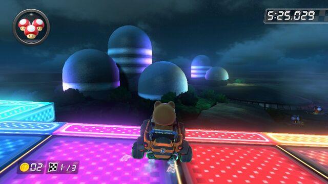 File:SNES Rainbow Road (Mario Kart 8) 6.jpg