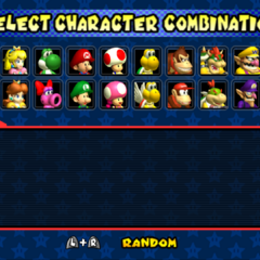 Selecting racers.