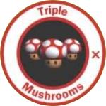 MK64 Triple Mushroom