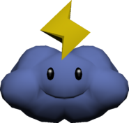 Lightning Cloud Model - Koopa Kart Wii