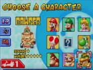 Mksc character select
