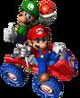 Mario y Lugi (mkdd)