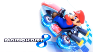 Mario Kart 8 Title Screen (Mario)