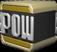 Gold POW Block - Mario Kart Wii