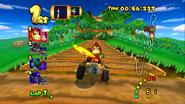 DK Mountain - Bridge - Mario Kart Double Dash!!