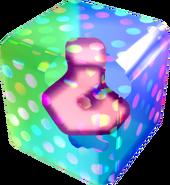 Borderless N64 Fake Item Box - Mario Kart Wii