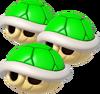 Triple Green Shell - Koopa Kart 8
