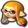 MK8DX Female Inkling Icon