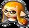 MK8DX Female Inkling Icon