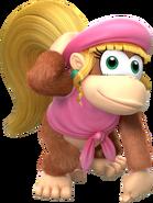 Dixie Kong - Mario Kart X