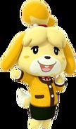Winter Isabelle - Mario Kart X