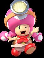 Captain Toadette - Mario Kart X