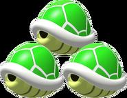 Triple Green Shells 2 - Mario Kart 64