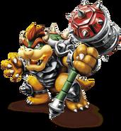 Hammer Slam Bowser - Mario Kart X