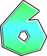 MK7 Number 6 Icon