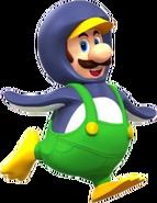 Penguin Luigi - Mario Kart X