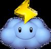 Thunder Cloud Artwork - Mario Kart Wii
