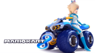 Mario Kart 8 Title Screen (Rosalina)
