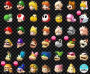 Mario kart 8 deluxe characters