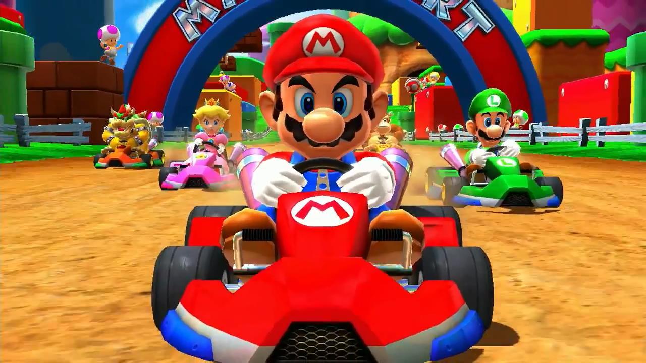 Super mario series mario kart racing wiki fandom - Mario kart wii personnages et vehicules ...