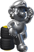 Metal Mario - Mario Kart X