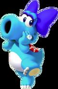 Blue Birdo - Mario Kart X